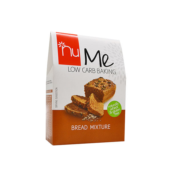 nu me low carb baking bread mixture
