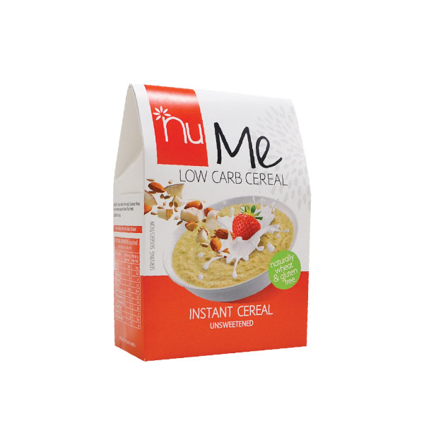 NuMe Low Carb Instant Cereal