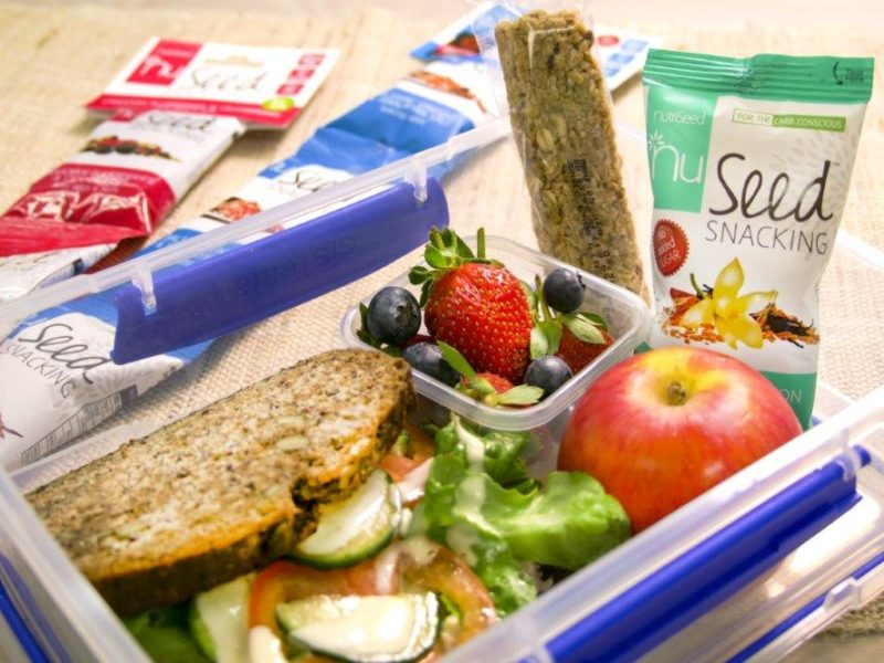 Snack lunch box ideas