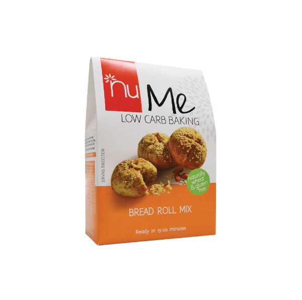 NuMe Low Carb Baking Bread Roll Mix